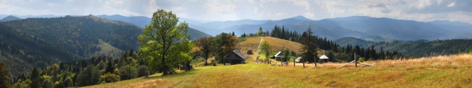 carpathians panorama